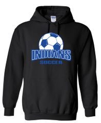 Indians Soccer Hooded Sweatshirt