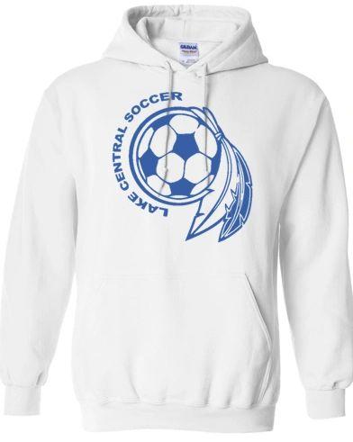Soccer Dream Catcher Hooded Sweatshirt