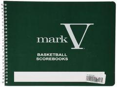 Mark V Basketball Score Book