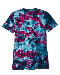 LaMer Over-Dyed Crinkle Tie Dye T-Shirt