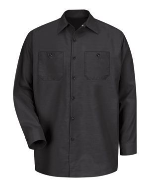 Red Kap - Industrial Long Sleeve Work Shirt