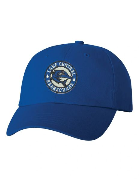 Embroidered Adult Bio-Washed Barracudas Cap