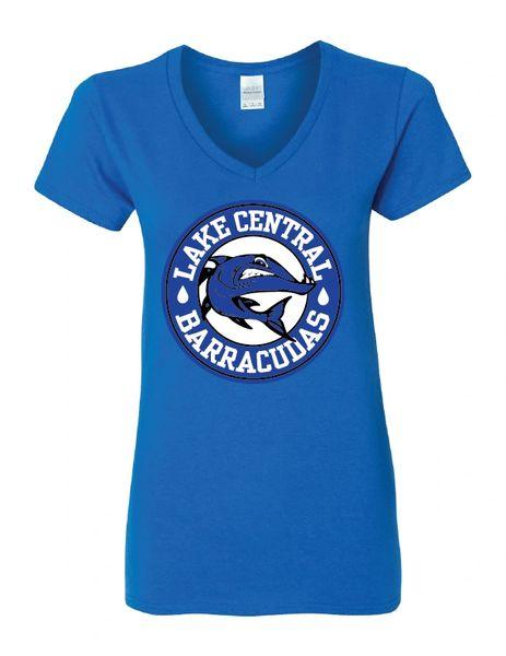 Barracudas Women's V-neck T-shirt