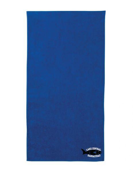 Barracudas Beach Towel