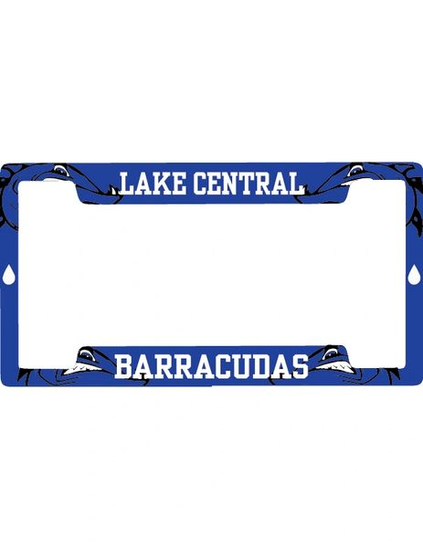Barracudas License Plate Holder