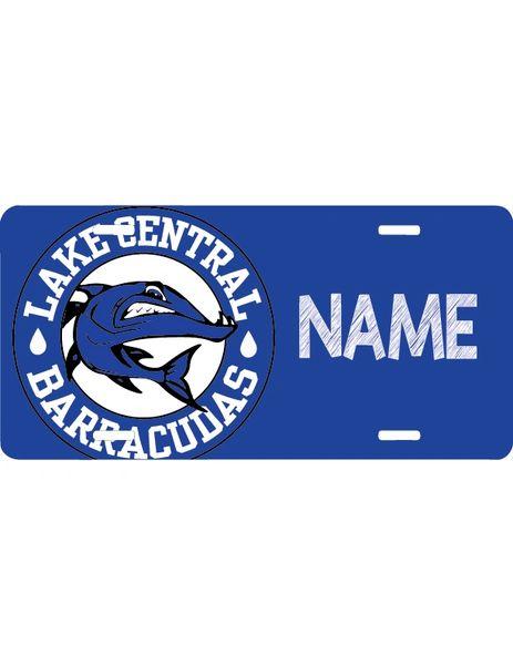 Barracudas License Plate