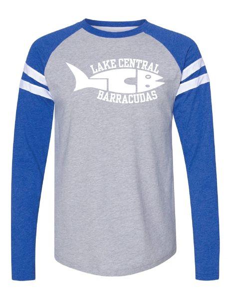 Barracudas Fine Jersey Mash Up Long Sleeve Tee