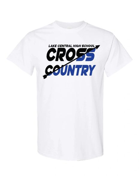 Lake Central Cross Country Arrow Split T-Shirt