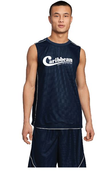 Caribbean Pools PosiCharge Mesh Reversible Sleeveless Tee