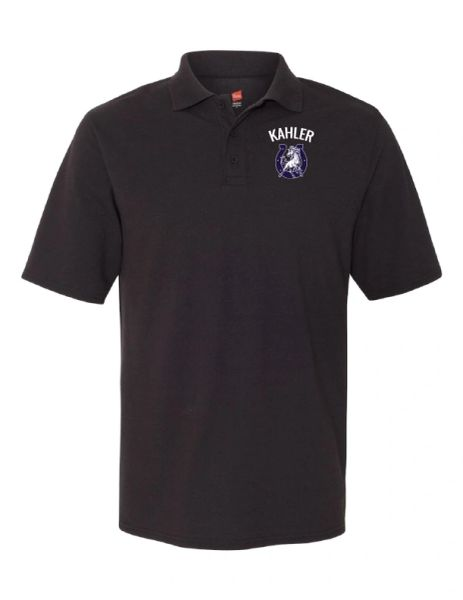 Embroidered Kahler X-Temp Piqué Sport Shirt