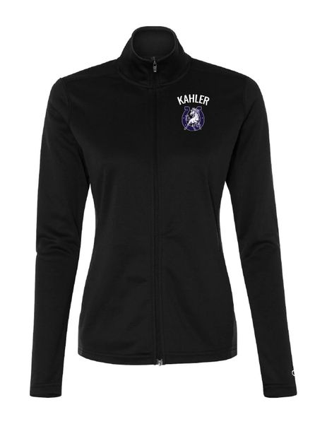 Embroidered Kahler Performance Full-Zip Jacket