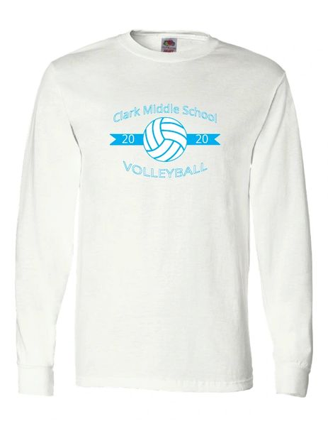 Clark Volleyball Long Sleeve T-shirt