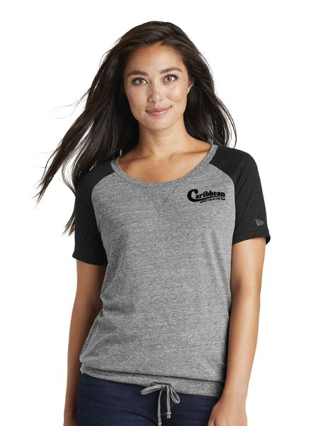 Caribbean Pools New Era ® Ladies Tri-Blend Performance Cinch Tee