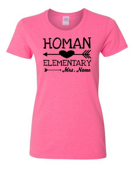 Homan Elementary Women's Arrow Shirt