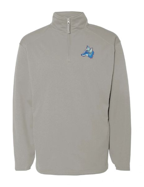 Clark Coyotes Quarter-Zip Pullover Embroidered Sweatshirt
