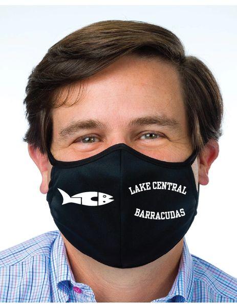 LC Barracudas Face Mask