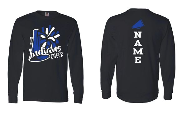 Lake Central Indians Cheer Black Long Sleeve