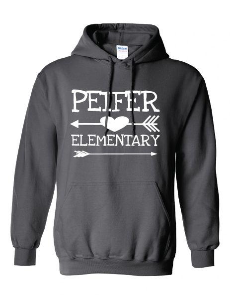 Peifer Elementary Arrow Hoodie
