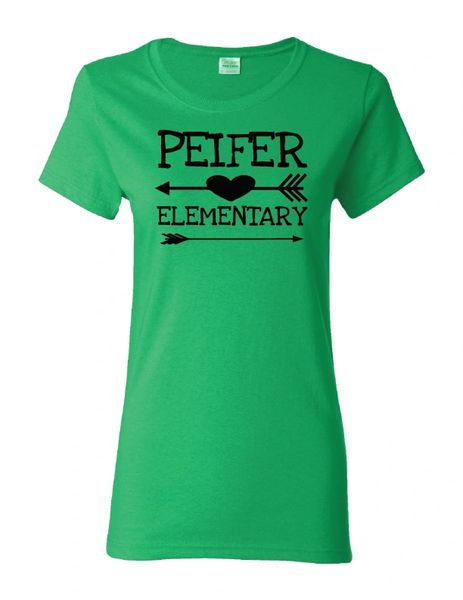 Peifer Elementary Women's Arrow T-Shirt