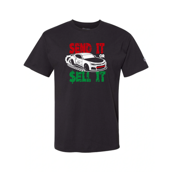 NWICE Send It or Sell It Champion T-Shirt (Black)