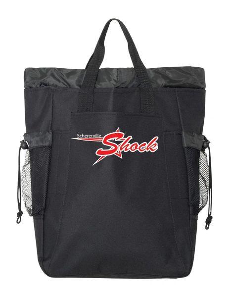 12U Shock Backpack Tote - Embroidered