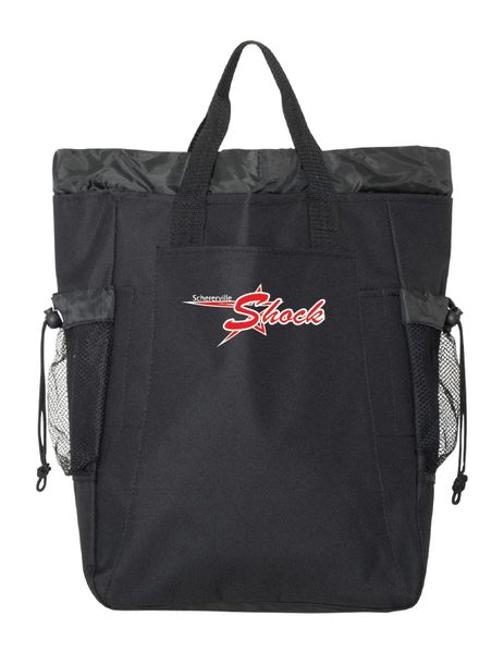 12U Shock Backpack Tote - Embroidered