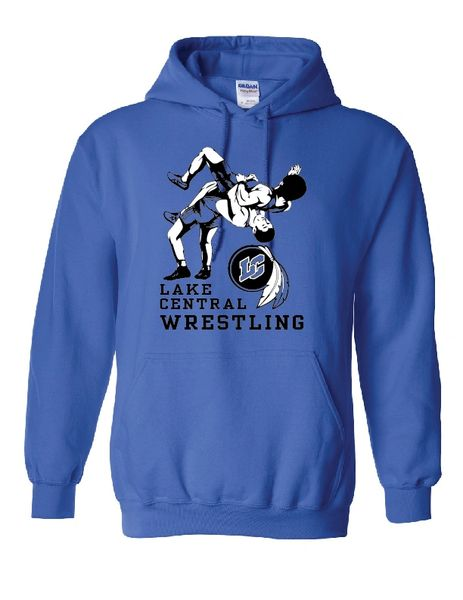 Lake Central Wrestling Hoodie