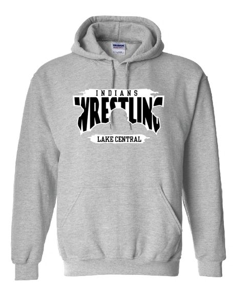 Lake Central Indians Wrestling Hoodie