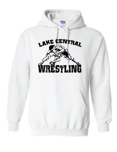 Lake Central Wrestling Hoodie 2
