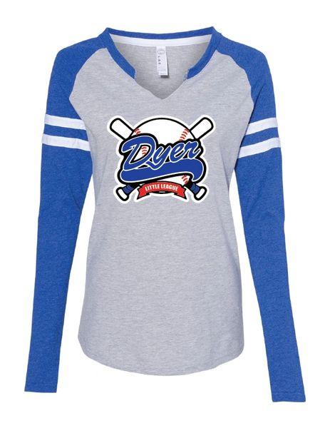 DLL Women's Fine Jersey Mash Up Long Sleeve T-Shirt