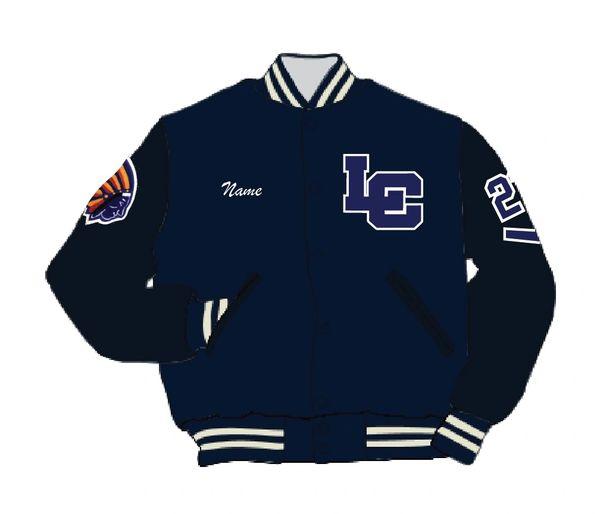 Lake Central Athletic Letterman's Jacket