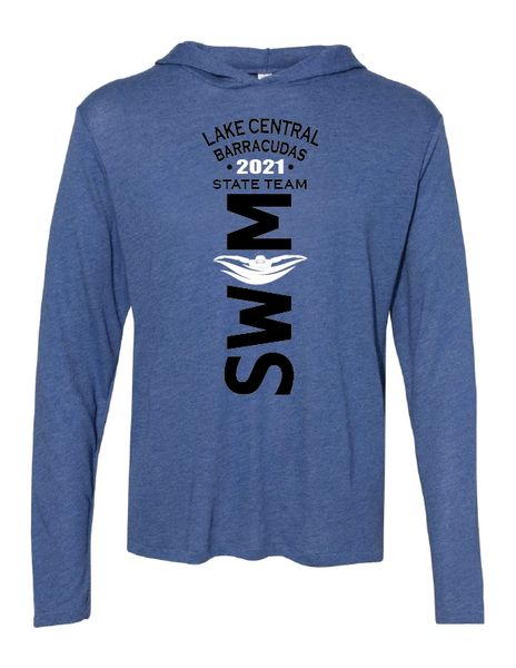 Barracudas 2021 State Long Sleeve Hooded Pullover