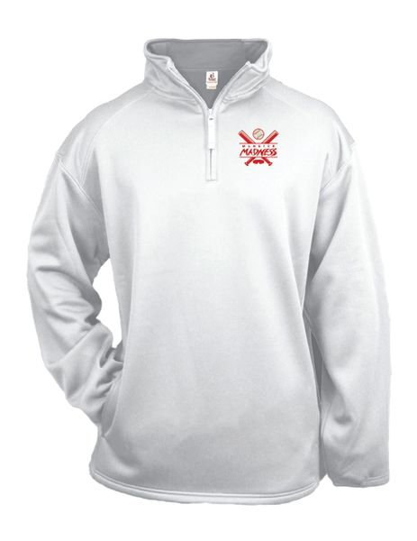 Munster Madness Performance Fleece Quarter-Zip Pullover - Embroidered