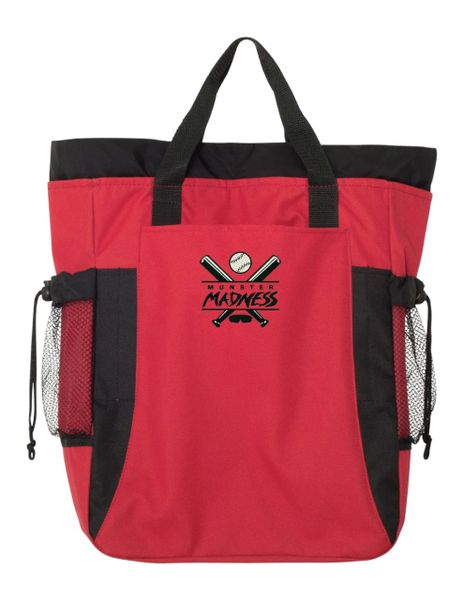 Munster Madness Backpack Tote - Embroidered