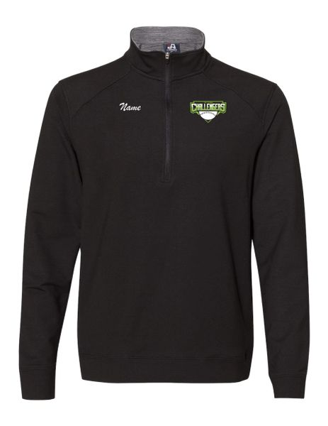 Embroidered Tri-Town Challengers Omega Stretch Quarter-Zip Pullover