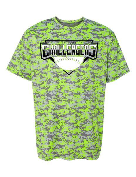 Tri-Town Challengers Digi Camo Wicking T-shirt