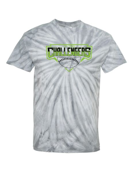 Tri-Town Challengers Cyclone Pinwheel Tie-Dyed T-shirt