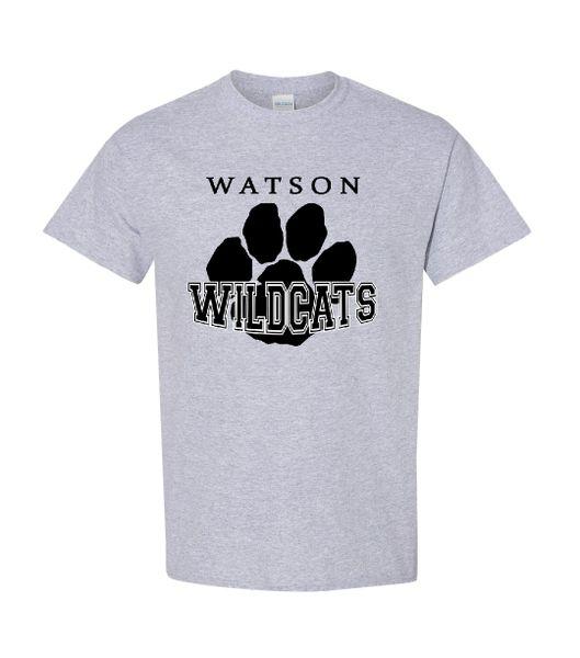 Watson Wildcats Paw T-Shirt