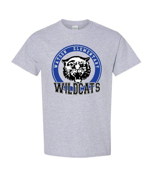 Watson Wildcats Circle T-Shirt