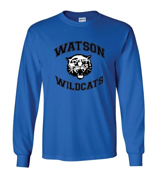 Watson Wildcats Arched Long Sleeves