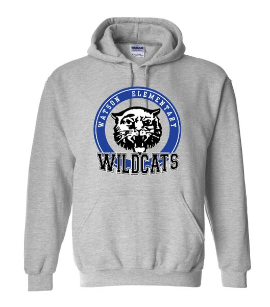 Watson Wildcats Circle Hoodie