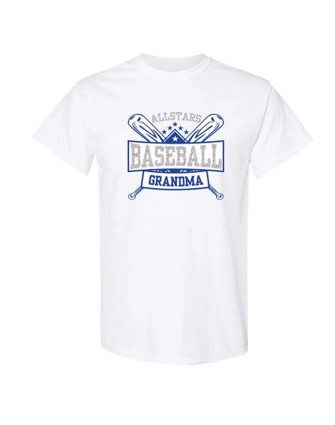 All-Star Baseball Grandma T-shirt