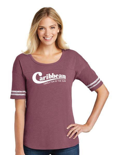 Caribbean Pools District ® Women's Scorecard Tee