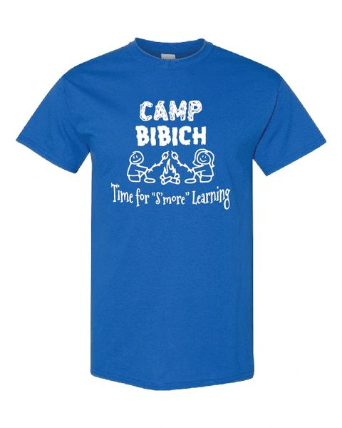 Bibich Elementary Royal T-Shirt Camp Bibich