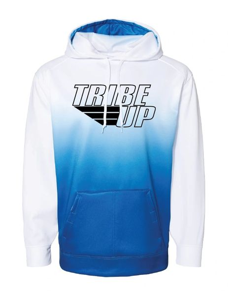 Tribe Up Ombre Hooded Sweatshirt