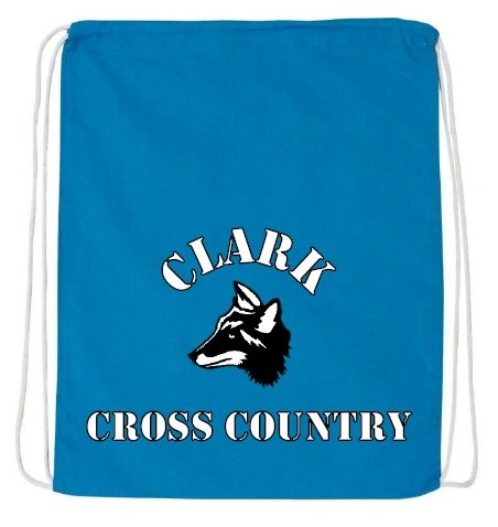 Clark Cross Country Uniform Bag Q4500 Carolina Blue