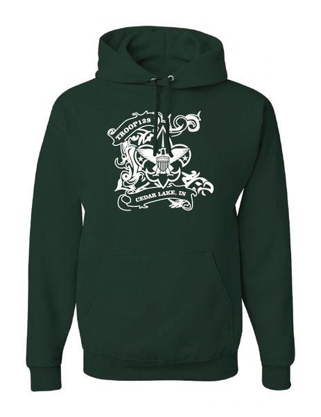 Troop 129 NuBlend® Hooded Sweatshirt