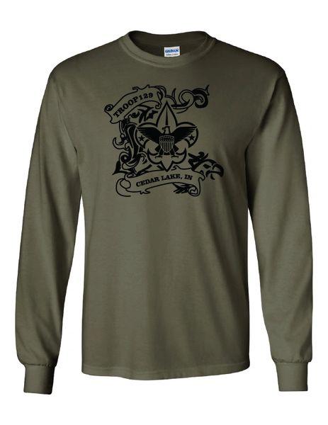 Troop 129 Ultra Cotton® Long Sleeve T-Shirt