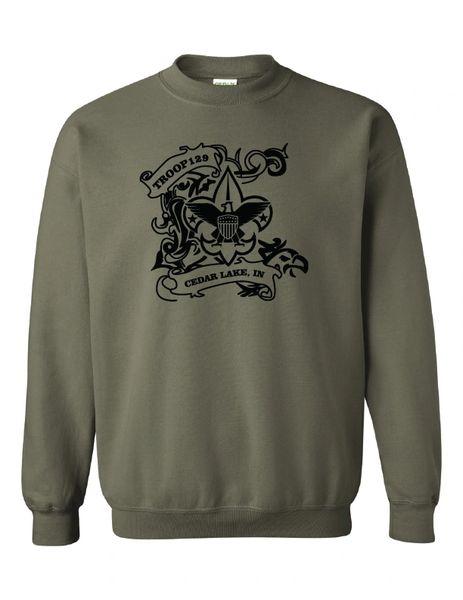Troop 129 Heavy Blend™ Crewneck Sweatshirt