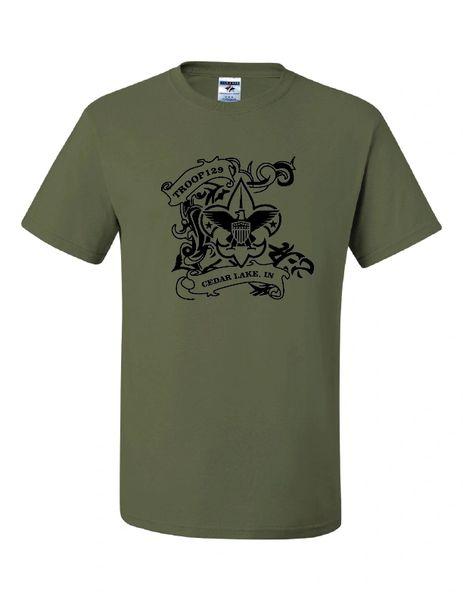 Troop 129 Dri-Power® 50/50 T-Shirt